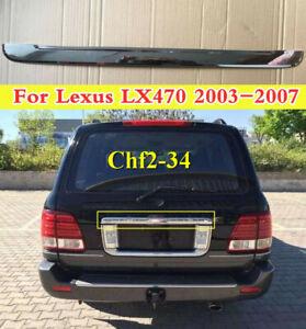 ABS Chrome Trunk Lid/Handle Garnish Molding Cover Trim For Lexus LX470 2003-2007