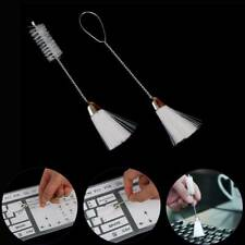 2pcs Mini Double Ended Keyboard Dust Removal Brush Sewing Tools Cleaning Brush