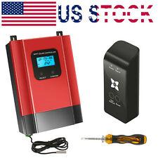 MPPT Solar Charge Controller 12V/24V/36V/48V Battery Regulator With WIFI 40A 60A