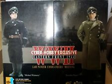 Action Figure 1/6 Dragon Cyber Hobby LAH Panzer Commanders Meeting