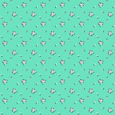 A Little Sweetness Mint Vintage by Tasha Noel for Riley Blake, 1/2 yard fabric