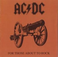 AC/DC for those about to rock we salute you (CD, album) hard rock, very good