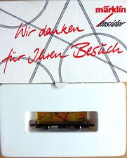 """-H044- Märklin Z miniclub; Tranparenter Containerwagen """"Märklin Insider"""" OVP"""