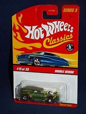 Hot Wheels 2007 Classics Series 3  #15 Double Demon Antifreeze w/ Red Lines 7SPs