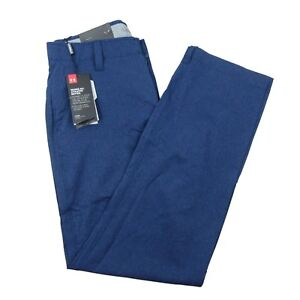 Under Armour Match Play Vented Blue Golf Pants Size 30x32 Blue 1259430-408 $84