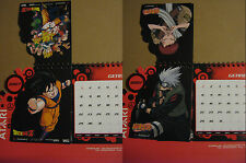 Naruto + Dragon Ball - Not For Sale Desk Calendar - Calendario da scrivania