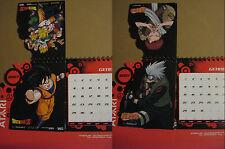 Naruto + Dragon Ball - Not For Sale Desk Calendar - Calendario da scrivania