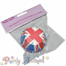 Culpitt: 54 Cupcake / Bun / Baking Cases Union Jack Flag Olympics