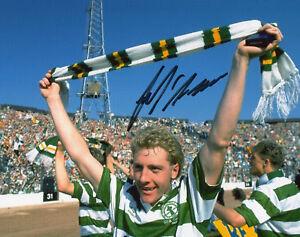 FRANK MCAVENNIE Signed 10x8  Photo CELTIC & SCOTLAND Legend COA
