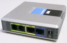 Unlocked Cisco / Linksys SPA2102 VoIP 2FXS Phone Adapter with Router