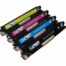 *4 Pack Color Toner Set Fits HP 126A CE310A-CE313A Color LaserCP1025nw M275 M175