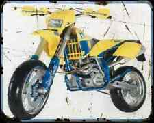Husaberg Fs650E 02 1 A4 Photo Print Motorbike Vintage Aged