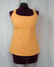 LULULEMON Track And Train Tank Top Orange Size 10