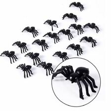 24 Real Looking Spiders Halloween Decorations Scary House of Horrors Insects