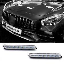 For Mercedes Benz X164 X166 GL-Class LED DRL Daytime Running Lamp Fog Light L&R