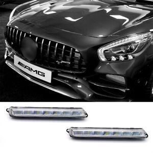 For Mercedes Benz GL-Class LED DRL Daytime Running Lamp Fog 1649060351+9060451