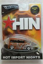Hot Wheels 1:50 Scale 2004 Hot Import Nights Series SCION xB (ORANGE FLAME)