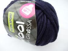 5,00 €//100g lana grossa MC WOOL NEON SPORT 50g colore 118 Marrone