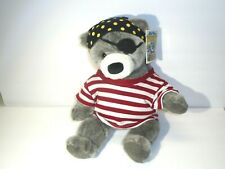 Gund 2000 Land's End Plush Bear Blue Bear the Pirate Toy