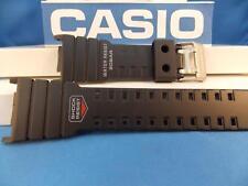 Casio Watch Band G-5500 black Resin. G-Shock 20 Bar Water Resist Strap