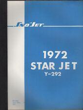 1972 SNO-JET SNOWMOBILE  STAR JET  Y-292  PARTS MANUAL (126)