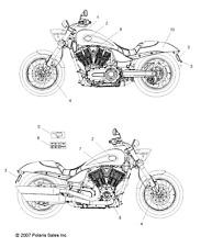 Victory Motorcycles ISOLATORHBAR BONDED 5412581 New OEM