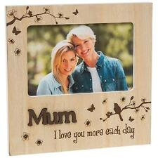 Mum Gift - Natural Photo Frame With Sentiments 60610