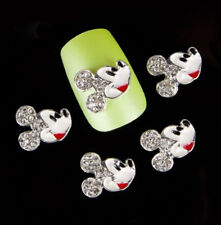 New Fashion 10PCS 3D Nail Art Alloy Decoration Jewelry Glitter Rhinestone IY5