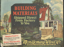 1929 MONTGOMERY WARD & CO. BUILDING MATERIALS MAIL ORDER CATALOG