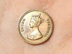 1848 Victoria MODEL Half Farthing Copper Miniature Coin 13mm #MM4