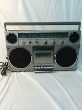 Vintage GE General Electric 3-5257A AM/FM Cassette Boombox Radio Works Great!
