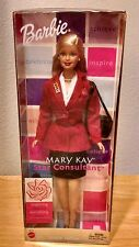 Mary Kay Prize~ Barbie Star Consultant Red Jacket~pin, bag, and brush, 40 Years