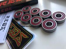 Original Bones Reds skateboard Precision bearings 8 Pack Set Skate Speed Cream