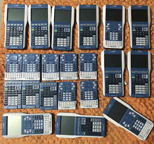Texas Instruments Ti-Nspire Graphing Calculators Lot Of Eleven Units + Keyboards