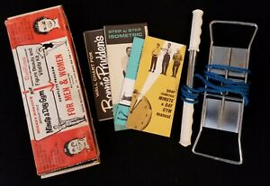 1963 Mickey Mantle Vintage Minute a Day Gym with Box & Booklets
