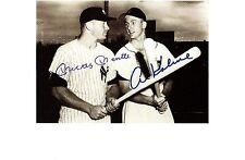 Mickey Mantle and Al Kaline comparing sticks - very Rare!