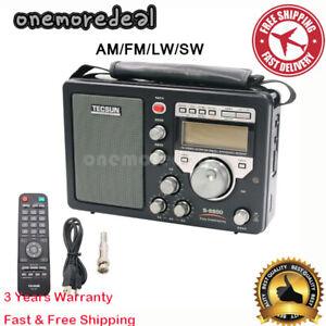 TECSUN S-8800 PLL DSP AM/FM/LW/SW All band SSB Radio Receiver Stereo + Remote #S