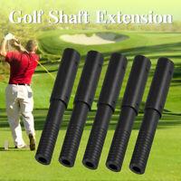 5Pcs Golf Club Graphite Shaft Extensions Rods-Extend Irons Putter Extender Stick