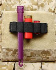 Chemlight Shotgun Shell CR123 Battery Holder Cyalume Surefire Black SWAT