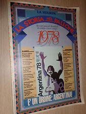 FASCICOLO LA STORIA NEL PALLONE SESSANT´ANNI DI MONDIALI LA STAMPA 1978