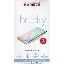 ZAGG InvisibleShield HD Dry Samsung Galaxy S6 Edge Plus Premium Screen Protector