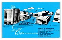 Postcard Hotel Empire at Lincoln Center, New York NY unused J21