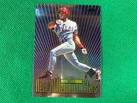 2000 Topps Chrome New Millennium Stars #NMS8 Ruben Mateo Texas Rangers