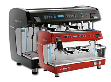 New , X-One, Commercial Espresso Machine 2grp 220V Etl. Red Or Black