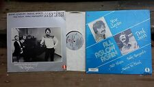 JAZZ LP LOT: STEVE CLAYTON & DEREK SMITH 2 albums All Aglow Again , Inner Spark