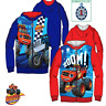 kids Boys BLAZE MONTSTERS  Disney Characters Jumper Jacket Sweat Tops,3-4-6-8YRS