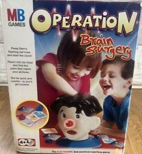 2003 ELECTRONIC  OPERATION BRAIN SURGERY BY MB GAMES COMPLETE AND TESTED