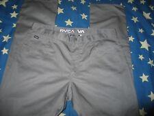 RVCA  Pants Slim Gray pants Men size 34x34