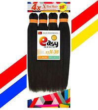 "1 Mega Pack EZ BRAID 38"" Pre-Stretched 4X Synthetic Braid Hair X-pression 200g"