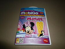 Vtech Mobigo Disney Minnie Mouse Learning Game Cartridge~For Ages 3-5~NEW IN BOX